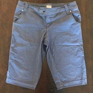 EUC Blue Bermuda Shorts - size 9